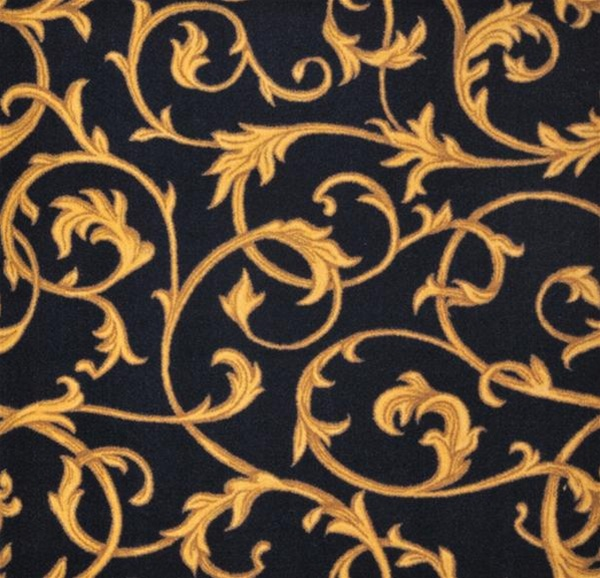 Acanthus Wall To Wall Carpet Black 13 6 Quot Jc1744w01 Joy