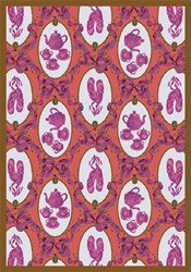 "Ribbons and Bows Wall-to-Wall Carpet - Rose - 13'6"" - JC433W02 - Joy Carpets"