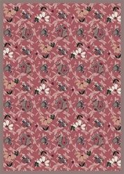 "Flower Garden Rug - Rose - Rectangle - 7'8"" x 10'9"" - JC438D02 - Joy Carpets"