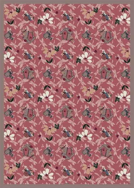 Flower Garden Wall To Wall Carpet 13 6 Quot Jc438wxx Joy