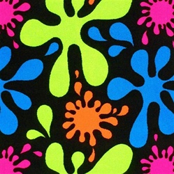 Splat Fluorescent Wall-to-Wall Carpet - 12' - JC446W - Joy Carpets