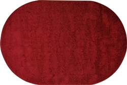 Interlude Rug - Burgundy - Oval - 6' x 9' - JCI30QQ01 - Joy Carpets