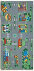 City Play Rug - Rectangle - 36