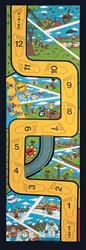 "Let's Learn To Balance Play Rug - Rectangle - 36"" x 80"" - LC125 - Learning Carpets"