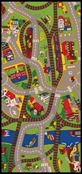 Ride The Train Play Rug - Rectangle - 36