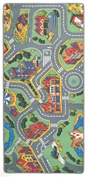 "My Neighborhood Play Rug - Rectangle - 36"" x 80"" - LC144 - Learning Carpets"