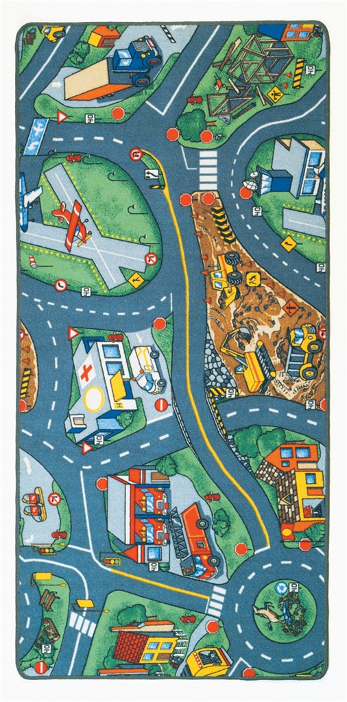 Airport Play Rug Rectangle 36 Quot X 80 Quot Lc158 Learning