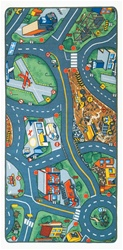 "Airport Play Rug - Rectangle - 36"" x 80"" - LC158 - Learning Carpets"