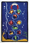 "Sea-Scotch Play Rug - Rectangle - 36"" x 52"" - LC162 - Learning Carpets"