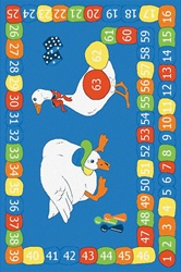 Goose On The Loose Play Rug - Rectangle - 40