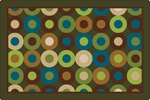Calming Circles Rug - CFK137XX - Carpets for Kids