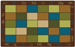 "Natures Colors Seating Rug - Rectangle - 8'4"" x 13'4"" - CFK18134 - Carpets for Kids"