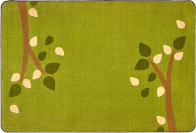 KIDSoft Branching Out Rug - Green - CFK28754, CFK28756, CFK28758 - Carpets for Kids