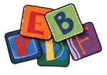 Toddler Alphabet Blocks Kit - Primary - Set of 26 - CFK3826 - Carpets for Kids