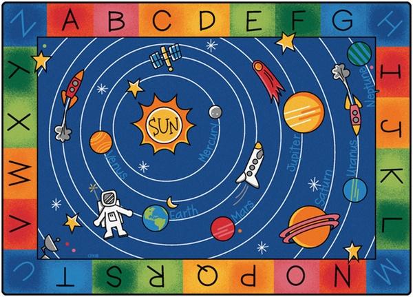 Milky Play Literacy Rug Cfk54xx Carpets For Kids