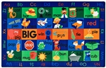 "Rhyme Time Rug - Rectangle - 7'6"" x 12' - CFK5912 - Carpets for Kids"