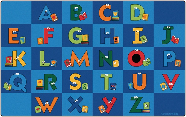 Reading Letters Library Rug Cfk6212xx Carpets For Kids