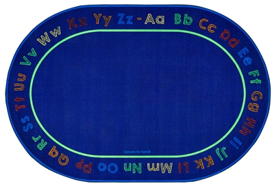 Chalk & Play Literacy Rug - CFK63XX - Carpets for Kids