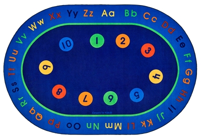 Basic Concepts Literacy Rug - CFK85XX - Carpets for Kids