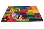 Spiritual Fruit Painted Rug - Rectangle - 8' x 12' - CFK90117 - Carpets for Kids