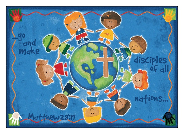 Great Commission Children S Rug Rectangle 5 5 X 7 8 Cfk92015