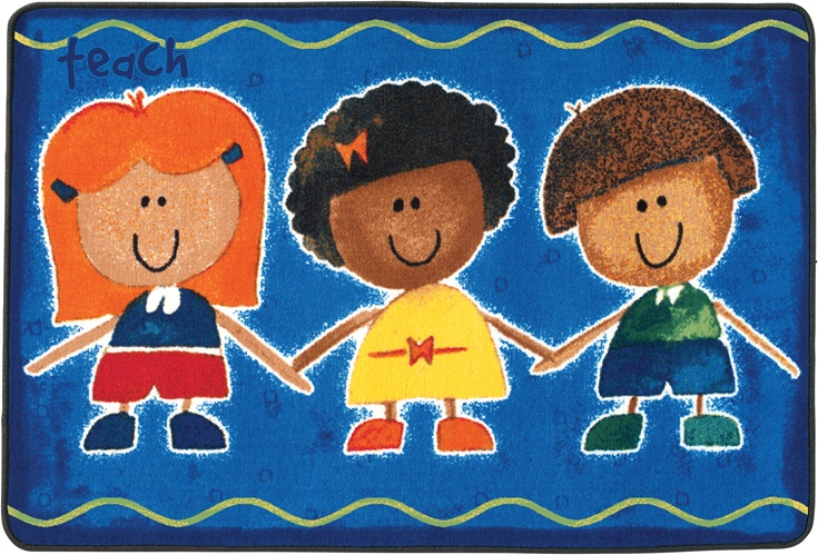 Great Commission Collection Teach Children Accent Rug