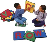 Alphabet Squares - Square - Set of 26 - CFK926 - Carpets for Kids