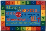Always be Joyful Circletime Value Rug - Rectangle - 8' x 12' - CFK9697 - Carpets for Kids