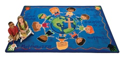 "Great Commission Children's Rug Factory Second - Rectangle - 7'8"" x 10'10"" - CFKFS92017 - Carpets for Kids"