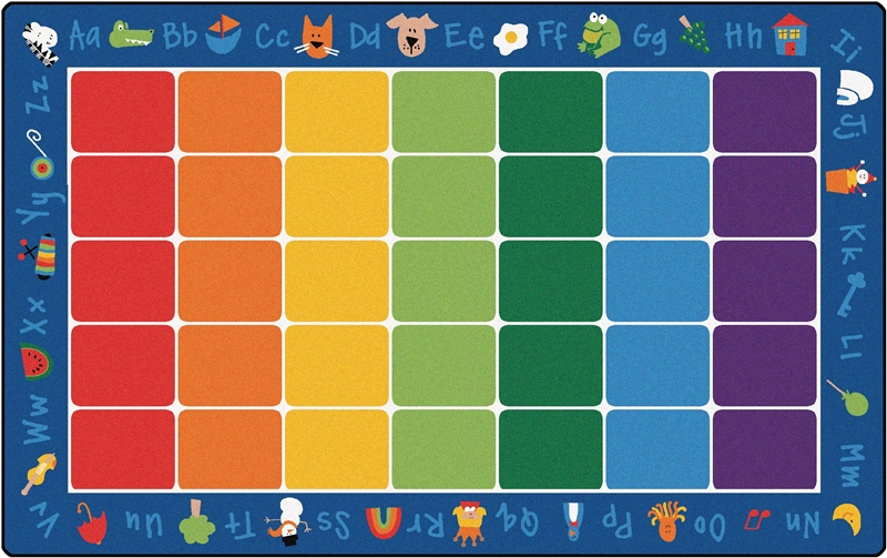 Fun With Phonics Rug Factory Second Rectangle 8 4 Quot X 13 4