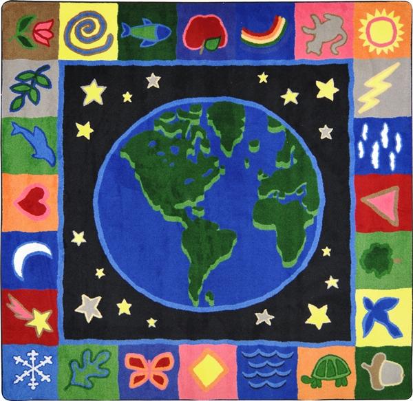 Earthworks Children S Rug Kids Area Carpet Rtr Kids Rugs