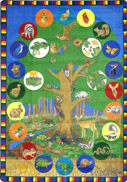Tree Of Life Rug Jc1448xx Joy Carpets