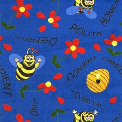 Bee Attitudes Wall-to-Wall Carpet - JC1451WXX - Joy Carpets