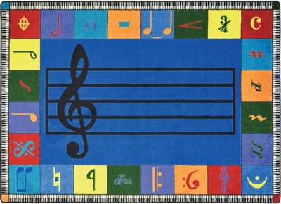 Noteworthy Classroom Music Rug