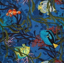 "Under the Sea Wall-to-Wall Carpet - 13'6"" - JC1501W - Joy Carpets"