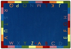 Rainbow Alphabet Rug - JC1543XX - Joy Carpets