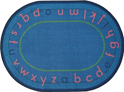Montessori Alphabet Rug - JC1553XX - Joy Carpets