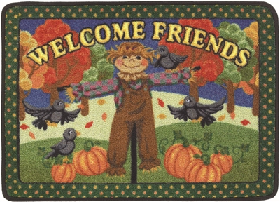 Welcome Friends Mat Fall - RTR Kids Rugs