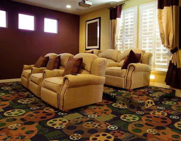 13 6 Quot Home Theater Carpet Full Room Blockbuster Carpet
