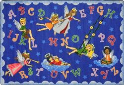 Angel Alphabet Rug - JC1650XX - Joy Carpets