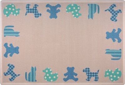 Frisky Friends Rug - JCX1743XX - RTR Kids Rugs