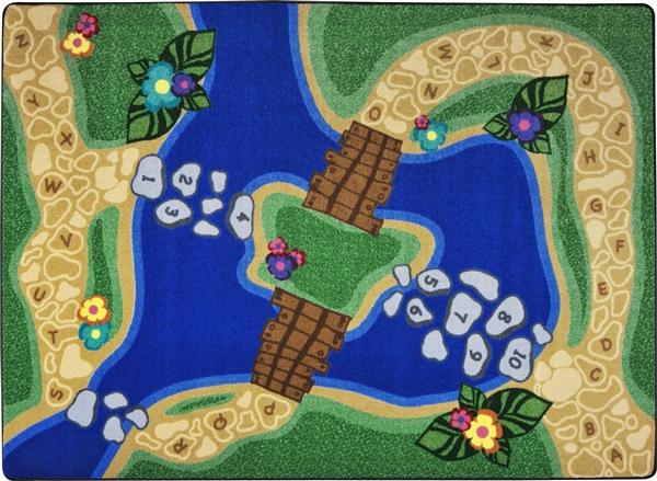 Alphabet Trail Play Rug Jc1788xx Joy Carpets