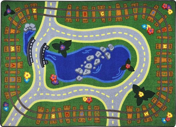 Alphabet Express Play Rug Jc1791xx Joy Carpets