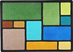 Our Block Kids Rug - Earthtone - JC1800ETXX - Joy Carpets