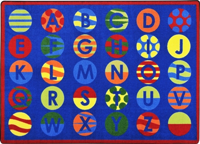 Alphabet Patterns Rug - JCX1802XX - RTR Kids Rugs