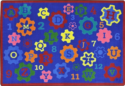 Geared for Learning Rug - JCX1907XX - RTR Kids Rugs