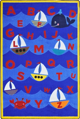 Sailor's Alphabet Rug - JCX1913XX - RTR Kids Rugs