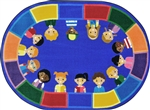 All of Us Together Rug - JCX1923XX - RTR Kids Rugs