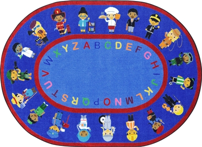 We Work Together Rug - JCX1937XX - RTR Kids Rugs