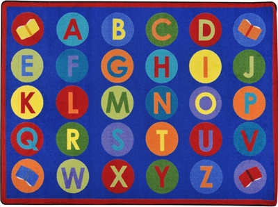 Library Dots Rug - JCX1945XX - RTR Kids Rugs